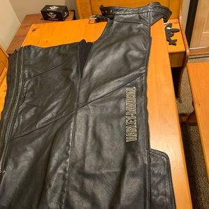 Harley Davidson Women's Leather Chaps